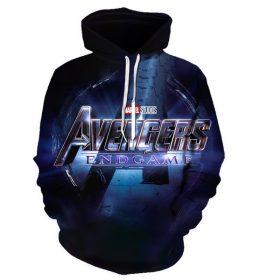 Hoodie Avengers 3 Dimensi Import