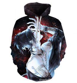 Hoodie Sweater Anime 3 Dimensi Import 2020