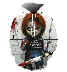 Hoodie Sweater Boneka Chucky Import 2020