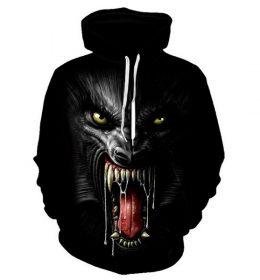Hoodie Sweater Gambar Gorila Kingkong 3 Dimensi Terbaru