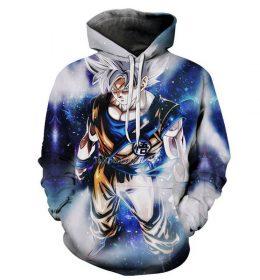 Hoodie Sweater Goku Dragon Ball Z 3 Dimensi Import