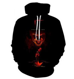 Hoodie Sweater Import Model Badut Seram