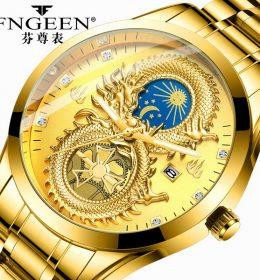 Jam Tangan Naga Emas Impor 2020