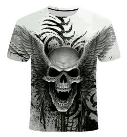 Kaos 3 Dimensi Angel of The Death Import