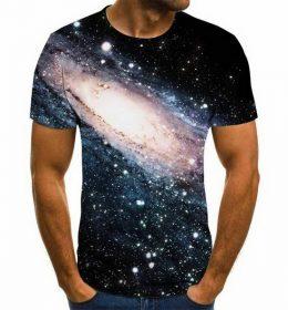 Kaos 3 Dimensi Galaksi Andromeda Import