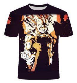 Kaos 3 Dimensi Goku Keren Import