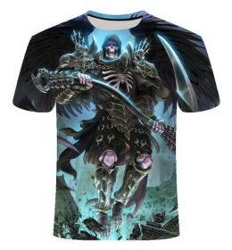 Kaos 3 Dimensi Karakter Monster Import