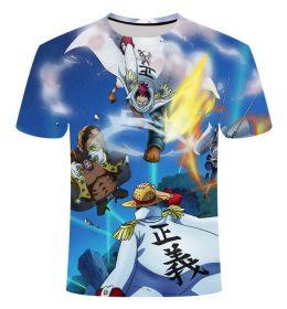 Kaos 3 Dimensi Kartun Anime Import