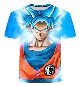 Kaos 3 Dimensi Kartun Goku Super Import
