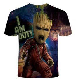 Kaos 3 Dimensi Kartun Monster Alien Import