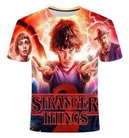 Kaos 3 Dimensi Stranger Things 3 Import