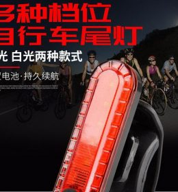 Lampu Belakang Peringatan Sepeda Gunung Import