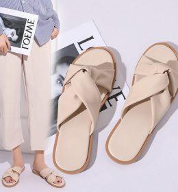 Sandal Flat Wanita Import Terbaru