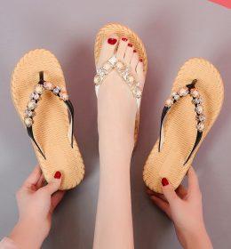 Sandal Santai Wanita Import Berkualitas Tinggi