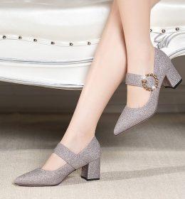 Sandal Wanita Hak Tinggi Import
