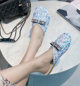 Sandal Wanita Model Dasi Kupu-Kupu