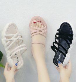 Sandal Wanita Wedges Import Terbaru