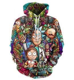 Sweater Hoodie Kartun Lucu 3 Dimensi Import