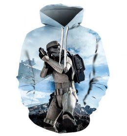 Sweater Hoodie Pasukan Star Wars 3 Dimensi Import