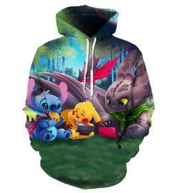 Sweater Hoodie Pikachu Lucu 3 Dimensi