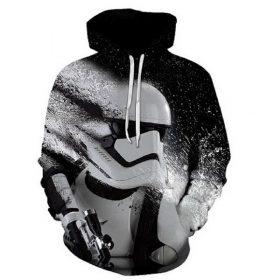 Sweater Hoodie Star Wars 3 Dimensi