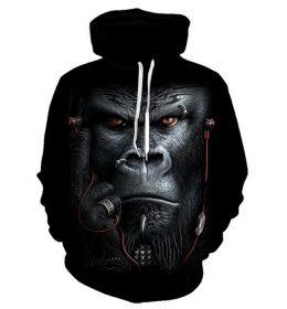 Sweater Monyet Kingkong 3 Dimensi