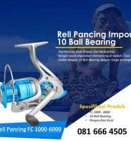 Jual Alat Reel Pancing Murah FC 1000 - 6000