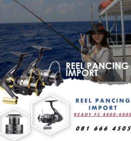 Reel Pancing Ikan LA 1000 - 6000