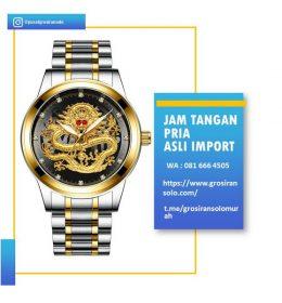 Jam Tangan Naga Emas Import Tahan Air