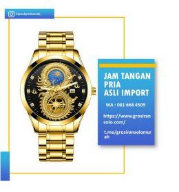 Jam Tangan Pria Motif Naga Import Berkelas