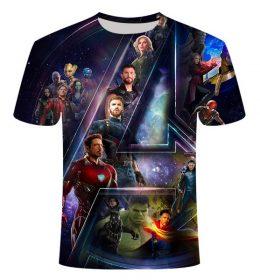 Kaos 3 Dimensi The Avengers Import