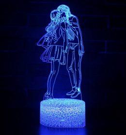 Lampu Tidur Anime Romantis Import
