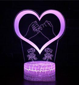 Lampu Tidur Janji Cinta Import