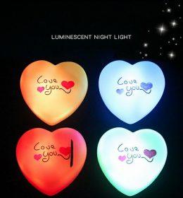 Lampu Tidur Model Hati Romantis Import Terbaru