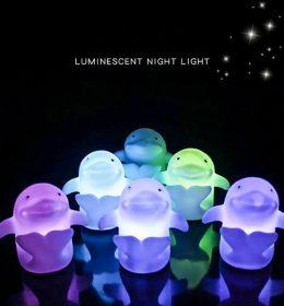 Lampu Tidur Model lumba-Lumba Lucu Import Terbaru