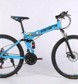 Sepeda Lipat Biru Muda Import 30 Speed