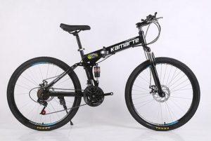 Sepeda Lipat Import Hitam 30 Speed