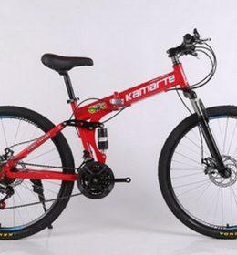 Sepeda Lipat Import Merah 30 Speed