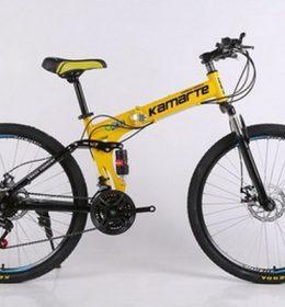 Sepeda Lipat Kuning Import 30 Speed