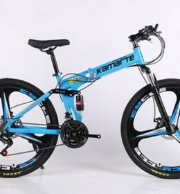 Sepeda Lipat MTB Import Warna Biru 30 Speed