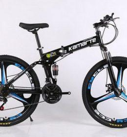 Sepeda Lipat MTB Warna Hitam Import 30 Speed