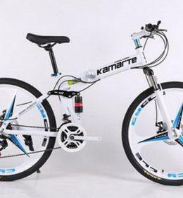 Sepeda Lipat MTB Warna Putih Import 30 Speed