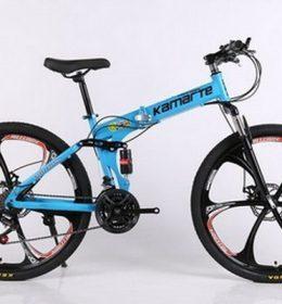 Sepeda Onthel MTB Warna Biru Import 30 Speed