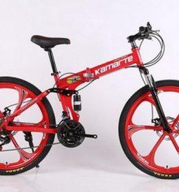 Sepeda Onthel MTB Warna Merah Import 30 Speed