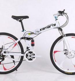 Sepeda Onthel MTB Warna Putih Import 30 Speed