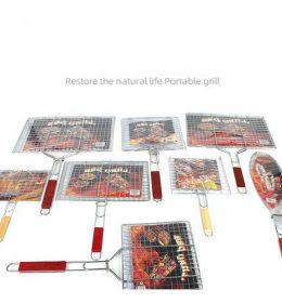 Alat Panggang Model Jepit Sosis Daging Sate Ikan Termurah Asli I