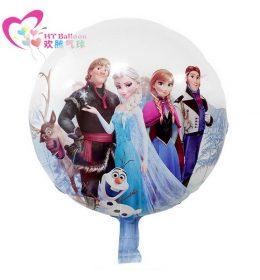 Balon Frozen Elsa and Friend Terbaik Kualitas Anti Abal - Abal