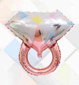 Balon Karakter Cincin Emas dan Rose Gold Termurah Berkualitas