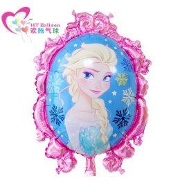 Balon Karakter Elsa Meriahkan Ulang Tahun Bertema Frozen