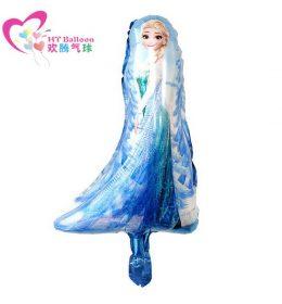 Balon Karakter Elsa dan Olaf
